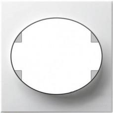 Рамка одноместная ABB Tacto (белая)