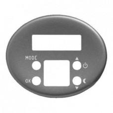 Электронный регулятор теплого пола  TACTO серебро