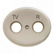 Розетка TV-R без фильтра TACTO (Шампань)