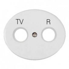 Розетка TV-R-SAT одиночная Tacto (Белый)
