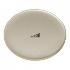 Светорегулятор (диммер) клавишный 40-450 Вт TACTO шампань
