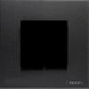 Рамка 1-постовая (2 модуля), немецкий стандарт, антрацит ABB Niessen Zenit