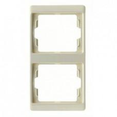 Рамка двойная, для вертикального монтажа
