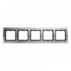 Рамка пятерная, для горизонтального/вертикального монтажа