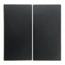Выключатель двухклавишный, проходной (вкл/выкл с 2-х мест) 10 А / 250 В~
