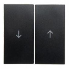 Выключатель управления жалюзи клавишный, 10 А / 250 В~