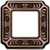Рамка Toscana Siena 1 пост (блестящая патина) FD01351PB