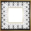 Рамка Vintage Porcelain 1 пост (Black Lys - блестящее золото) FD01341NEOB